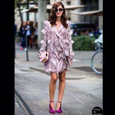 #fashion #fashionblogger #fashiondesigner #fashionpeople #icon #streetstyle #ootd  #fashionweek #lookbook #itgirl #models #vogue #runway #nyfw #fw #ss #pfw #dailystyle #magazine #fashionweek #eleonoracarisi