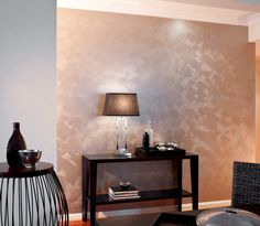 Metallic Wall Paint Rose Gold Walls Painted