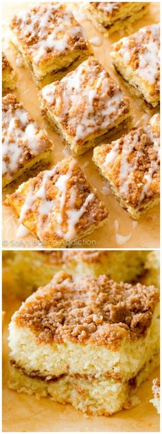 Skip the bakery and make this buttery rich old-fashioned sour cream crumb cake at home! Sour Cream Crumb Cake Recipe, Sour Cream Pound Cake, Sour Cream Coffee Cake, Delicious Cake Recipes, Sweet Recipes, Recipes Using Sour Cream, Sour Cream Desserts, Cream Recipes, Sallys Baking Addiction Cake
