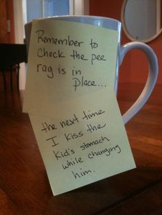 Message With A Bottle... hilarious blog from a stay-at-home dad.