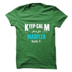 Keep Calm and Let MARITZA Handle It - #striped shirt #tee ball. CHECKOUT => https://www.sunfrog.com/No-Category/Keep-Calm-and-Let-MARITZA-Handle-It.html?68278