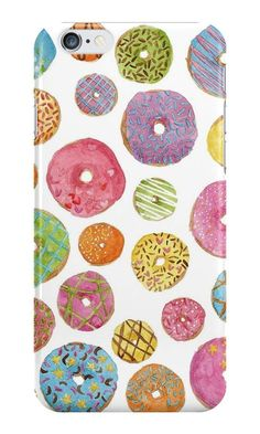 Our Dougnut Pattern Phone Case is available online now for just £5.99.    Check out our super cute Dougnut Pattern phone case, available for iPhone, iPod & Samsung models.    Material: Plastic, Production Method: Printed, Weight: 28g, Thickness: 12mm, Colour Sides: White, Compatible With: iPhone 4/4s | iPhone 5/5s/SE | iPhone 5c | iPhone 6/6s | iPhone 7 | iPod 4th/5th Generation | Galaxy S4 | Galaxy S5 | Galaxy S6 | Galaxy S6 Edge | Galaxy S7 | Galaxy S7 Edge | Galaxy S8 | Galaxy S8+ | Galax