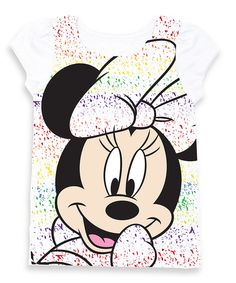 Another great find on #zulily! Minnie Rainbow Puff-Sleeve Tee - Toddler & Girls by Minnie Mouse #zulilyfinds