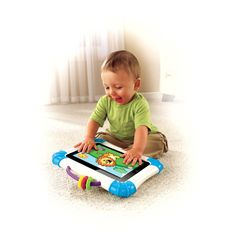 Fisher-Price Laugh and Learn Apptivity Case: iPad Edition... Cool!!