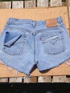 How to Make Distressed High Waisted Shorts