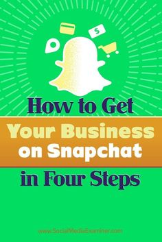 Do you want to use Snapchat for business?  Creating a Snapchat marketing plan helps ensure youll gain a significant return on the amount of time you invest in the platform.  In this article, youll discover a four-step plan to get your business started o