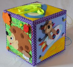 - Рукоделие - сообщество на Babyblog.ru - стр. 354 Activity Cube, Felt Templates, Felt Quiet Books, Fabric Toys, Preschool Games, Busy Book, Sewing For Kids, Handmade Toys, Educational Toys