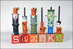 Cheri: This spool challenge was a lot of fun to do. I think all of us had a really good time and our projects were all so different. For my spool project I decided that I wanted to do a Halloween p…