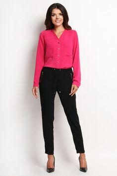 Camasa dama roz PrettyModa.ro Poses, Fashion, Figure Poses, Moda, Fashion Styles, Fashion Illustrations