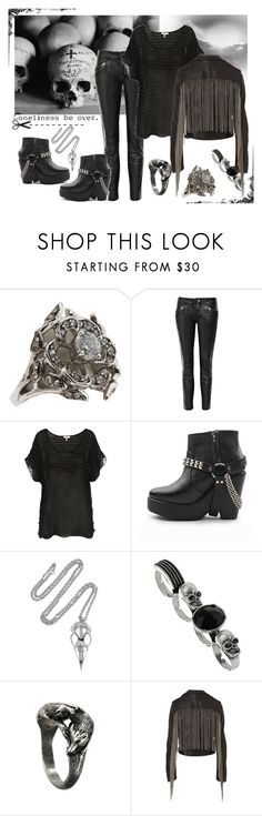 """""""Loneliness be over."""" by xivethx ❤ liked on Polyvore featuring Juicy Couture, Zadig & Voltaire, Joie, Maurie & Eve and Alexander McQueen"""