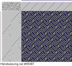 draft image: 20 sur 60, Planche A, No. 3, P. Falcot: Traité Encyclopedique et Méthodique de la Fabrication Des Tissus, 20S, 45T