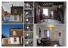 Before and After pics for a home brought back to life by Giroscope.  http://www.giroscope.co.uk/