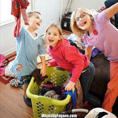 kids laundry - laundry skills - laundry chores
