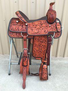 CSA 300A Corriente Association Ranch Saddle