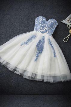 Prom Dresses Short #PromDressesShort, White Homecoming Dresses #WhiteHomecomingDresses, Prom Dresses White #PromDressesWhite, Bridesmaid Dresses 2018 #BridesmaidDresses2018