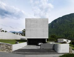 Davide Macullo Architects | House in Lumino on http://www.arthitectural.com