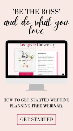 Discover how to get started in becoming a certified wedding planner and starting your own wedding and event planning business by attending our FREE webinar.