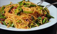 A pasta primavera that actually tastes like Spring!