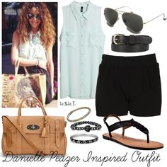 Danielle Peazer inspired outfit, created by abbytamase on Polyvore