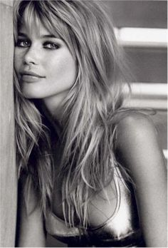 "Claudia Schiffer - One of our favorite models and our all time favorite German model at 5""8 we are inspired by her every day."