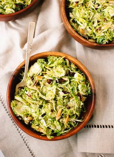 #Recipe: Honey Mustard Brussels Sprout Coleslaw