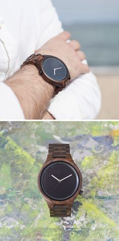 MAM Originals. Wooden Watches.  Water resistance.  #watch #wooden