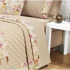 Resultado de imagem para camas com cabeceiras em tecido floridos estilo americano