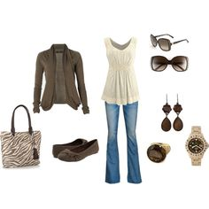 Coffee with Cream, created by missy5978 on Polyvore