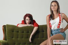 Portrait Eliza Shephard and Charne Esterhuizen – Model Shoot Photography by Red Instead