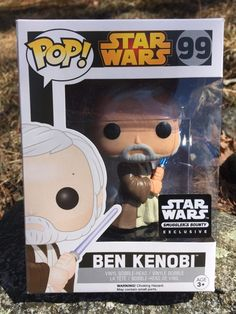 Funko Pop Ben Kenobi Star Wars 99 star wars smuggler's bounty exclusive