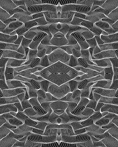 Geometric patterns by Hansje van Halem