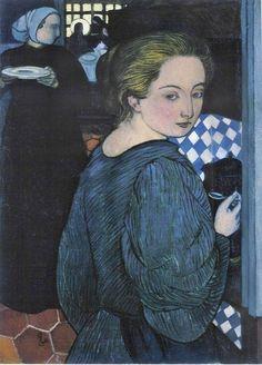 The Athenaeum - La Cuisiniere (Maurice Denis - 1893)