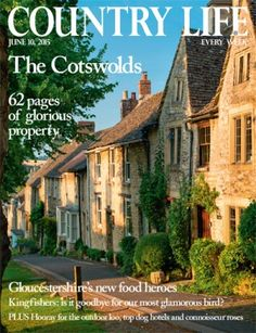 NEW ISSUE COUNTRY LIFE 10.6.15 PRINT ARRIVED 10.6.15