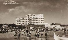 Eforie - Plaja si Hotel Bellona - interbelica Romania, Louvre, Street View, Memories, Humor, History, Country, Building, Travel
