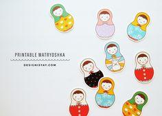 Chambre d'enfant : avec des poupées russes - Plumetis Magazine