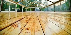 Large Clear Marquee With Floor