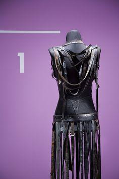 dressmaker Bethany Moore's bicycle tire inner tube dress