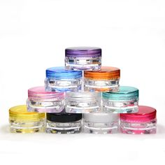 Portable Mini Lip Balm Containers Bottles Empty Tiny Vial Small Sample Perfume