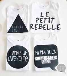 DIY T-Shirt Prints + Gratis download