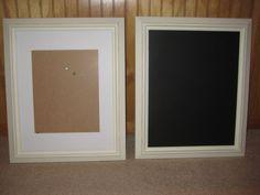 DIY Chalkboard Frames + Tutorial :  wedding ceremony chalkboards diy ivory reception signage signs tutorial white IMG 4876