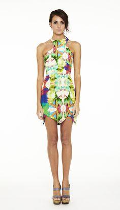Suboo Sun Kissed Nirvana Printed Silk Mini Dress -  290 Resort Dresses 3a4161ba0
