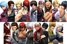 The King of Fighters XIV - Characters - Teaser 6 by Zeref-ftx on DeviantArt