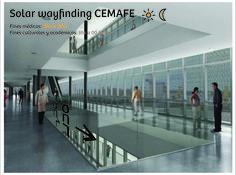 DESCRIPCIÓN: Sistema de información destinado para el complejo médico CEMAFE, que distingue sus dos funciones básicas: centro médico ambulatorio durante el día, y espacio cultural/educativo durante la noche. ALUMNOS: Arlettaz-Carrara-Novero. AÑO: 2012