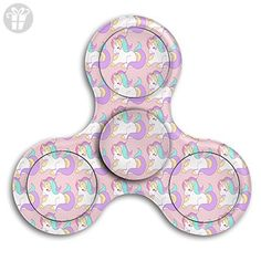 Magical Rainbow Unicorn Fidget Spinner Toys Hand Spinner Tri-fidget Spinners Stress Reducer - Fidget spinner (*Amazon Partner-Link)