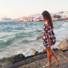 That magical sunset in Mykonos #tbt