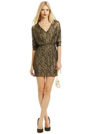 Gold On The Rocks Dress - RTR