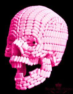 Drug skull.