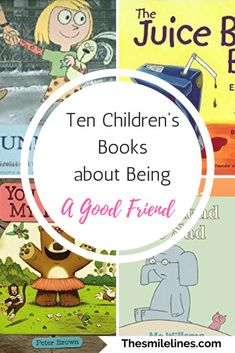 Read these popular children's books about being a good friend with kindness and loyalty. These books on friendship for kids remind your child the importance of being accepting and caring to others.