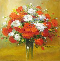 "Gerhard Nesvadba ""Poppy, Iris, Floral"" http://www.artshopnc.com/component/content/article/318.html"