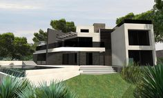 ToGu Architecture - Villa VEN – COTE BLEUE – FRANCE Conception d'une villa 290 m² Mission DPC Carry Le Rouet